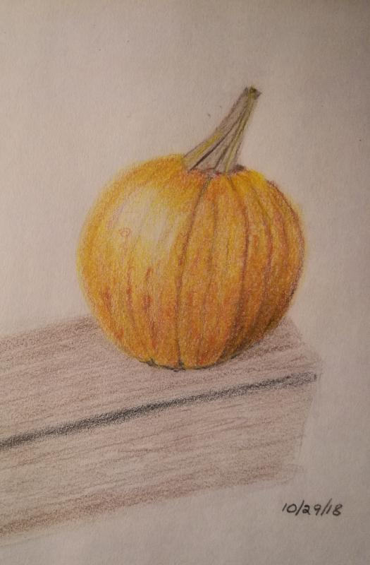 11-30-18 - Fall Pumpkin